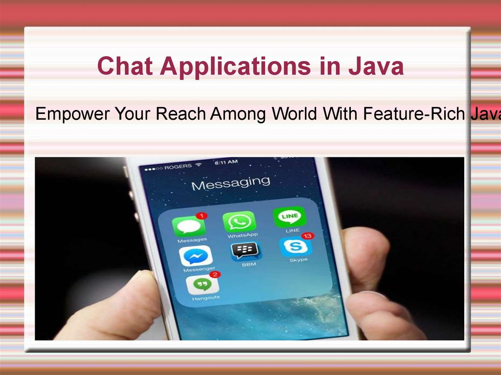 Welcome To Java India - online presentation