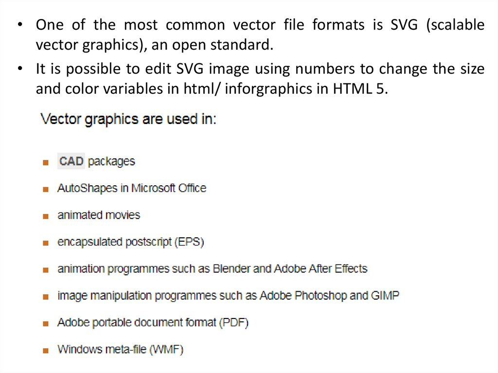 digital images bitmap and vector online presentation