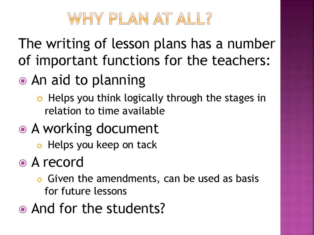 Formal Lesson plan - online presentation