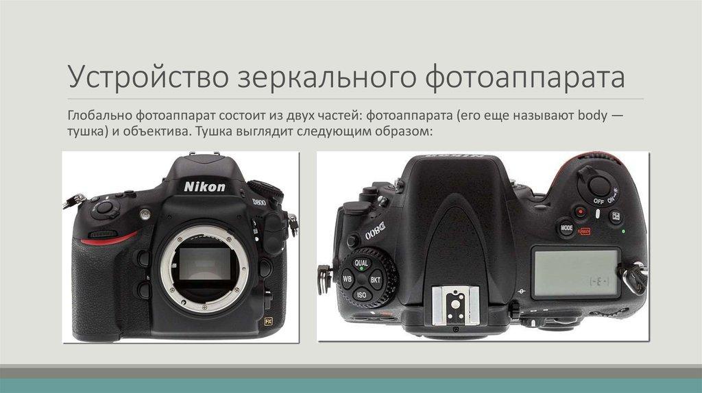 места, знаменитые основы зеркального фотоаппарата поосторожнее