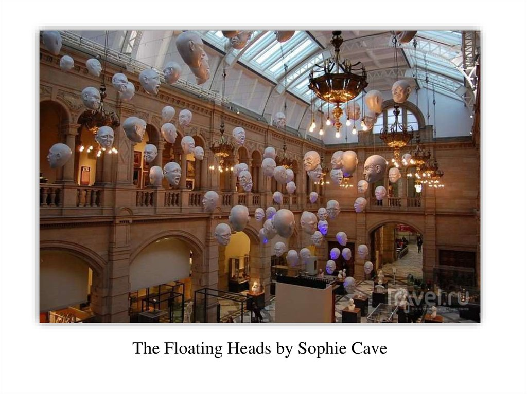 The Floating Heads by Sophie Cave
