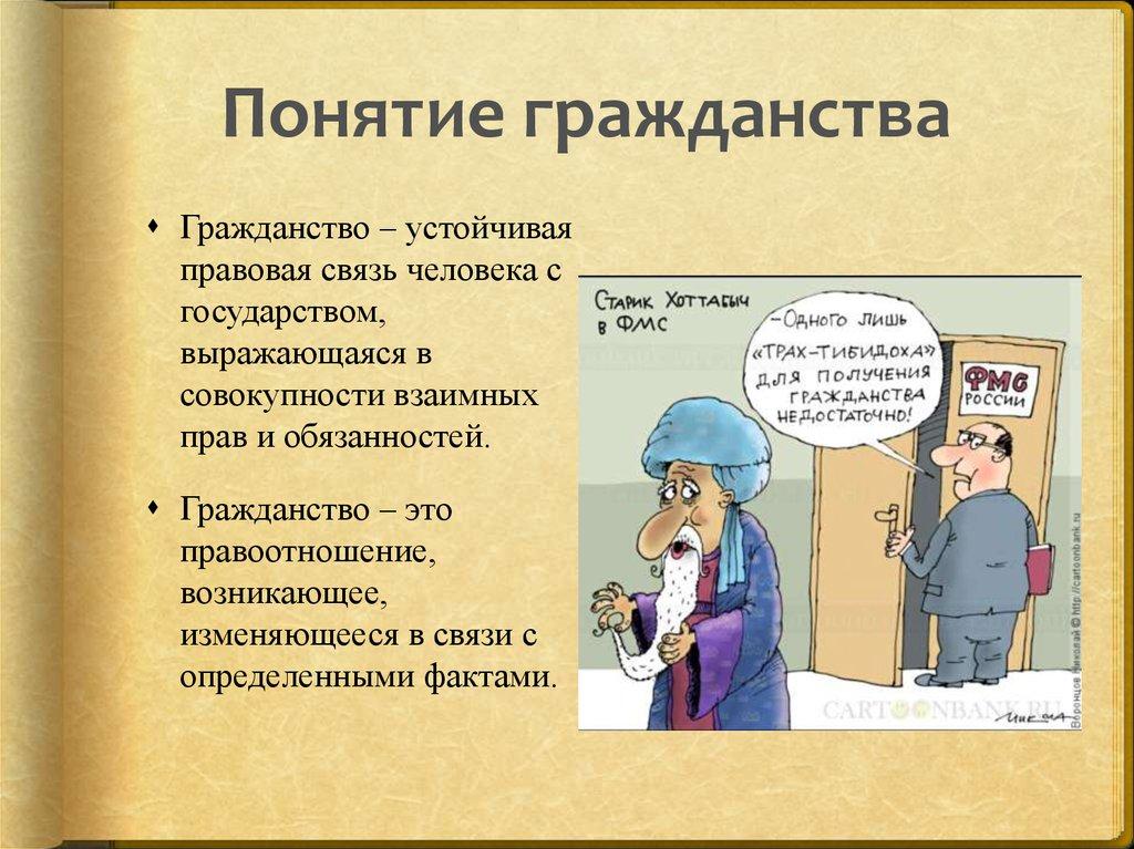 Институт Гражданства Рф Шпаргалка