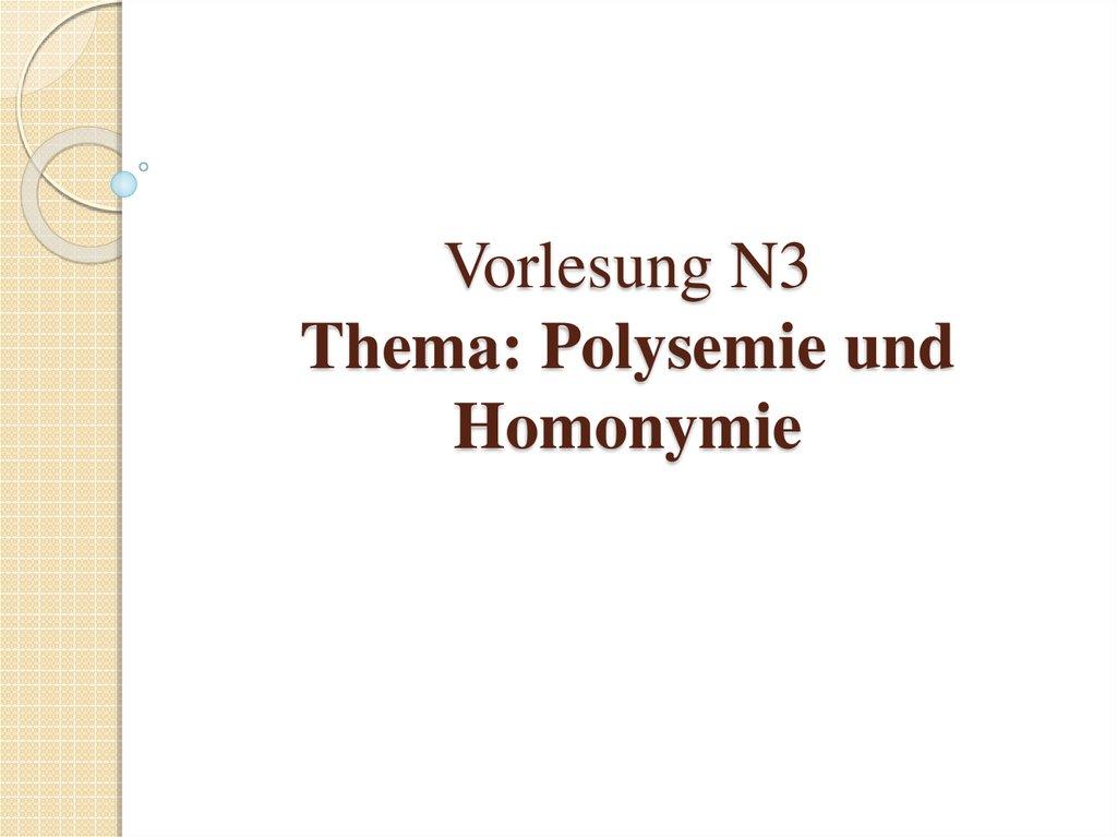Polysemie Und Homonymie Online Presentation 11