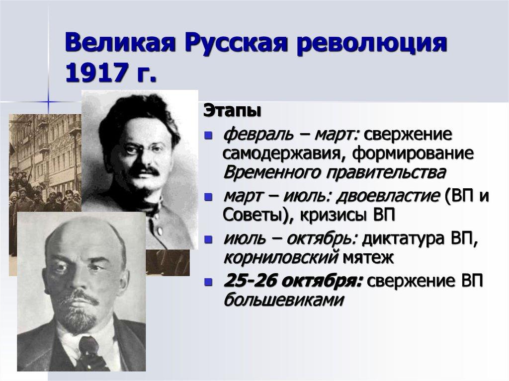 Великая российская революция