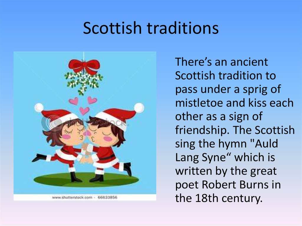 Christmas and hogmanay in scotland online presentation scottish traditions m4hsunfo