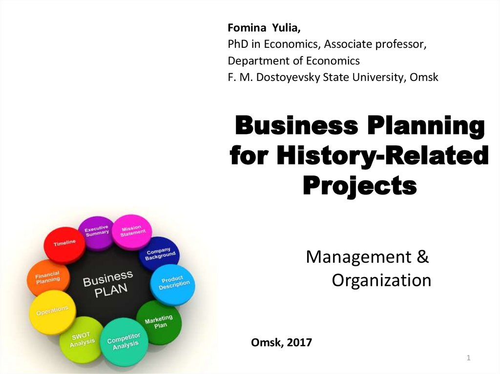 business planning department