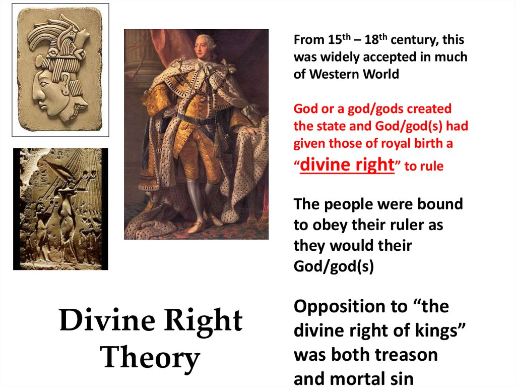 Divine Right Theory