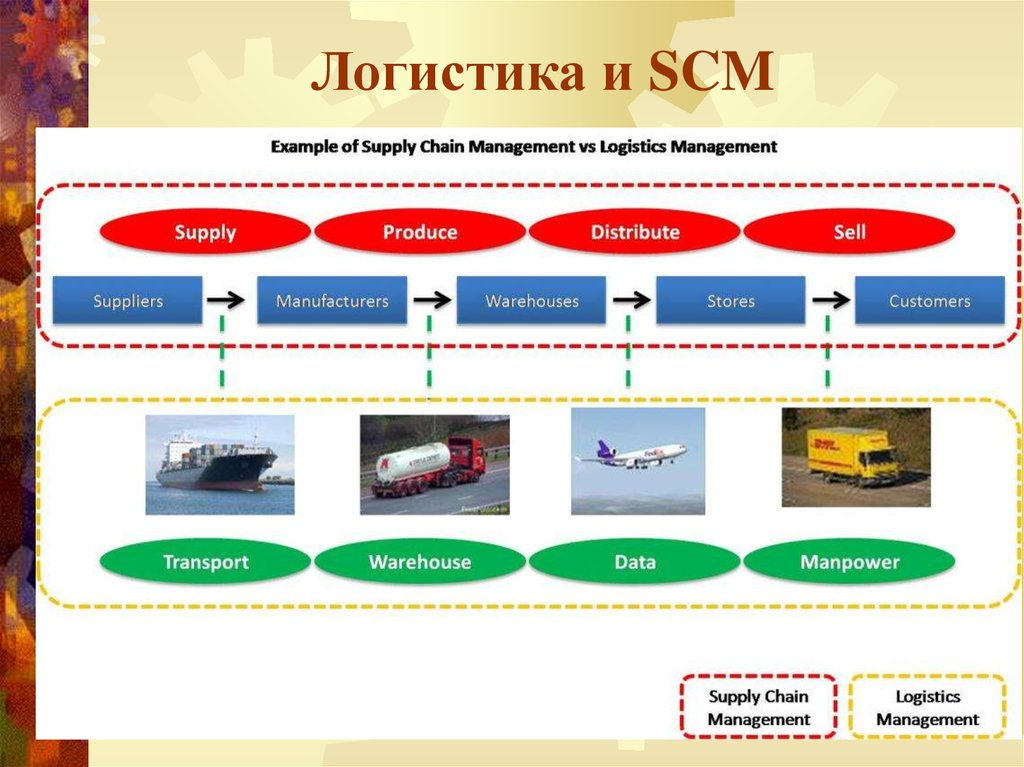 taking a look at logistics management Workers in the logistics and supply chain management (scm) field make sure that goods and services get into the hands of consumers the logistics industry is an important driver of economic growth and development.