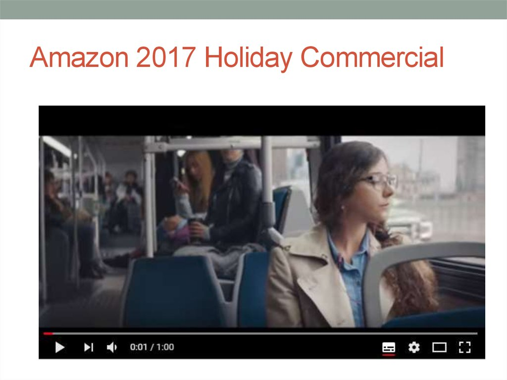 Amazon 2017 Holiday Commercial