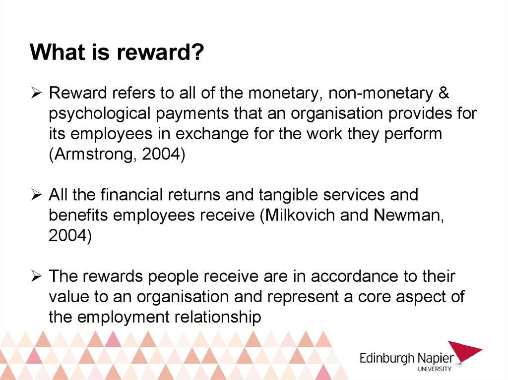 Contemporary Hrm Reward Management Online Presentation