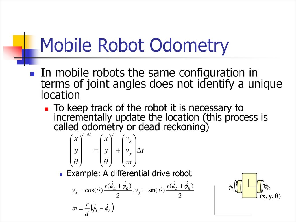 Mobile Robot Odometry