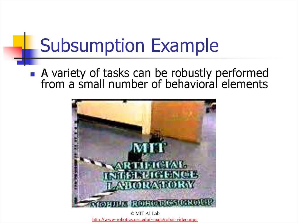 Subsumption Example