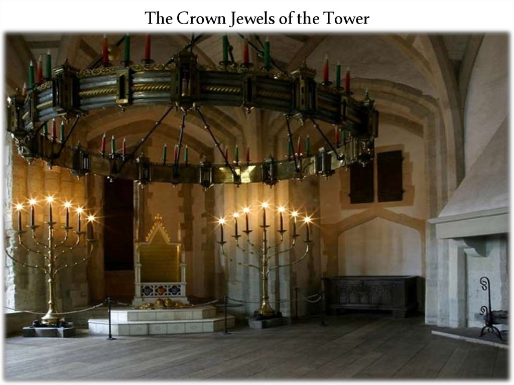 The Crown Jewels of the Tower