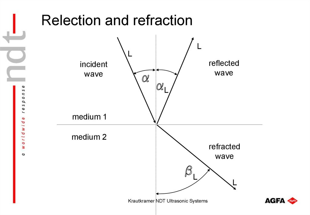 Relection and refraction