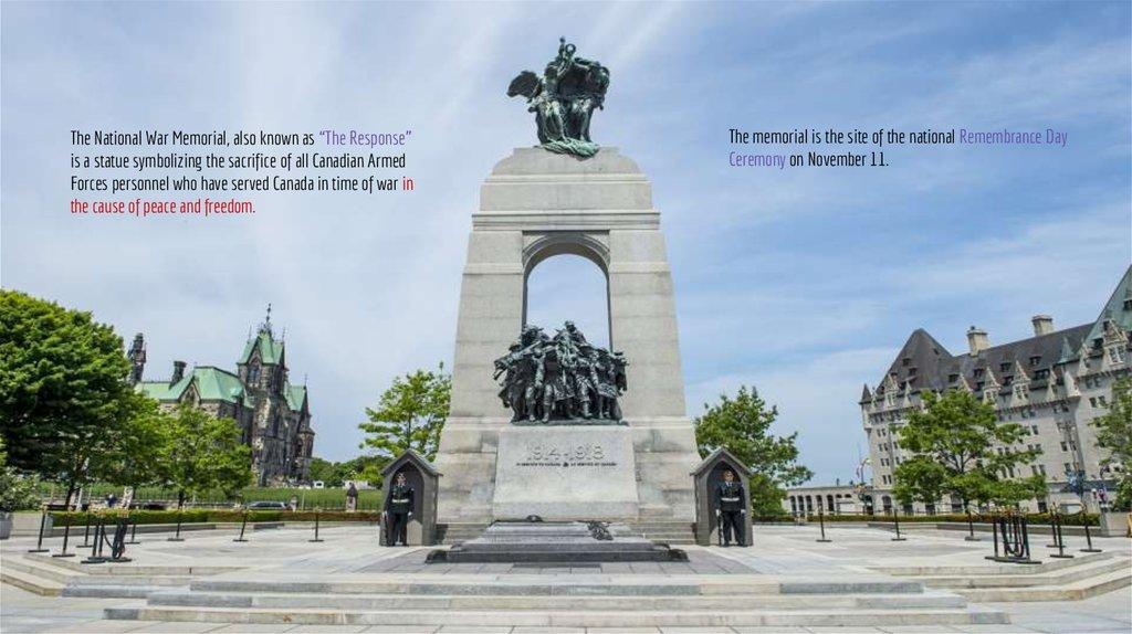 Canadian war memorials
