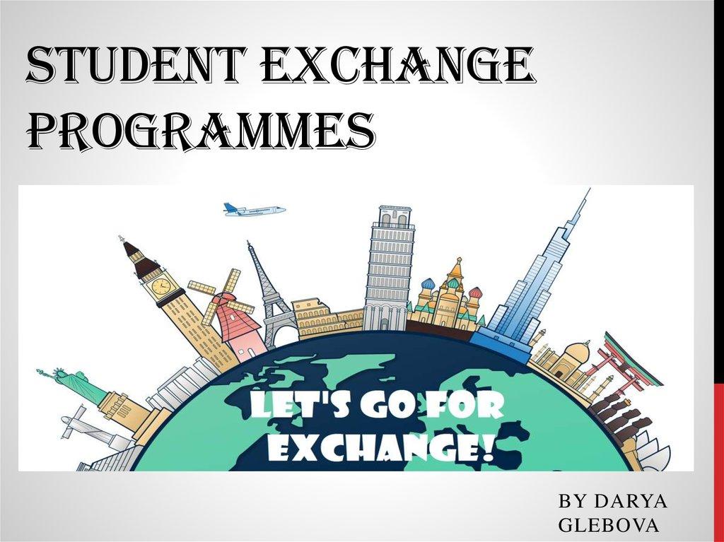 Exchange program essay