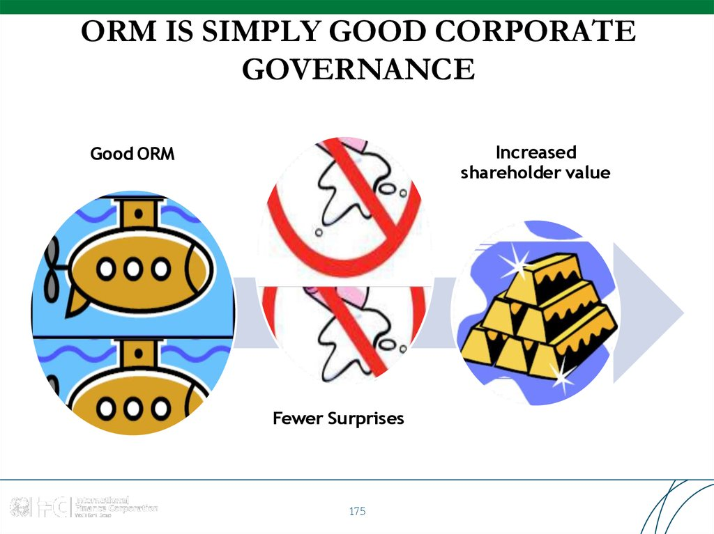 ORM IS SIMPLY GOOD CORPORATE GOVERNANCE