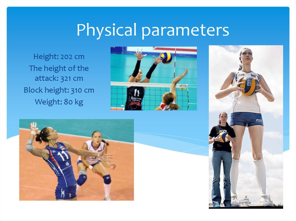 Physical parameters