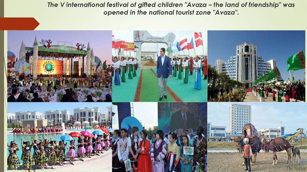 "The V international festival of gifted children ""Avaza – the land of friendship"" was opened in the national tourist zone"