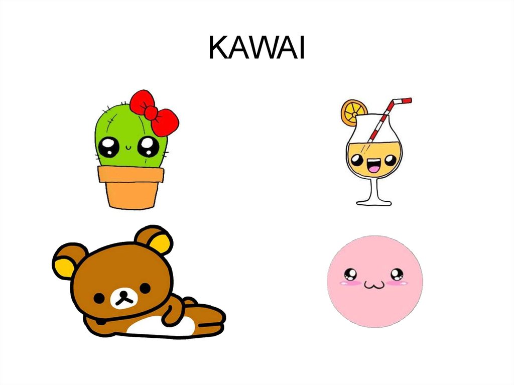 Kawai. Обои - online presentat...