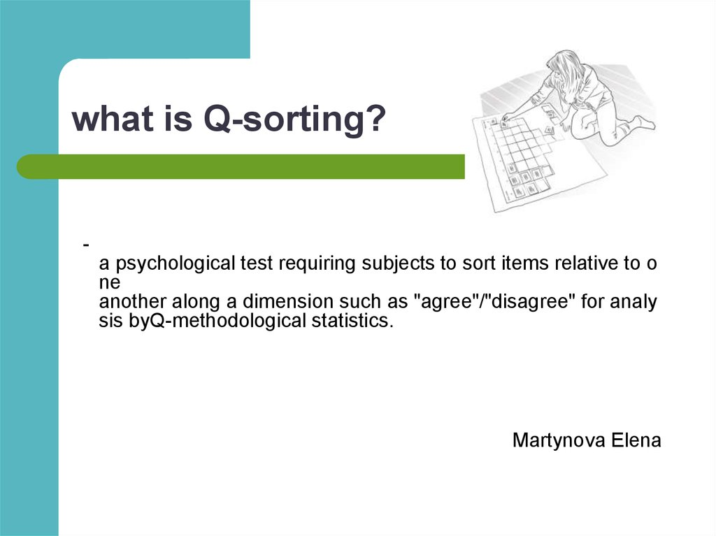 what is Q-sorting?