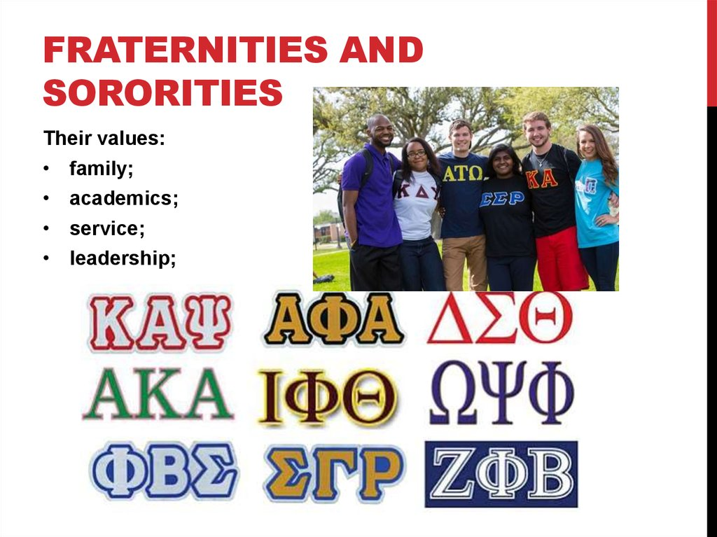 the evils of fraternities and sororities Freemasonry is a fraternity within a fraternity -- an outer organization concealing an inner brotherhood of the elect  it is necessary to establish the existence of these two separate and yet interdependent orders, the one visible and the other invisible.