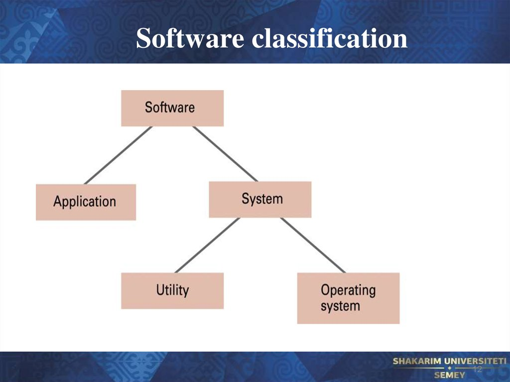Software classification