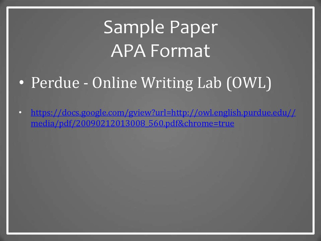 sample paper of apa format If you do no know how to write an outline in apa format check out some basic criteria order writing an outline in apa format at solidessaycom.