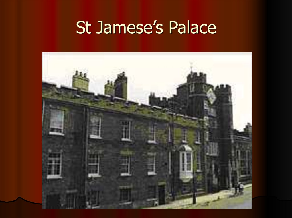 St Jamese's Palace