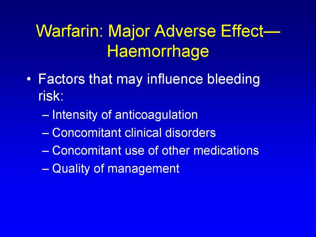 Anticoagulant Antiagregant Therapy Online Presentation