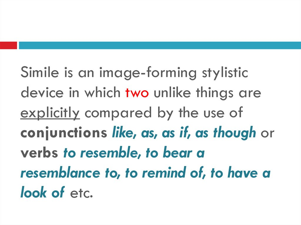 lexical stylistic devices simile online presentation