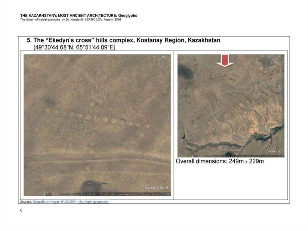 The kazakhstan's most ancient architecture: geoglyphs