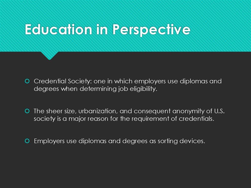 Educational Inequality Online Presentation