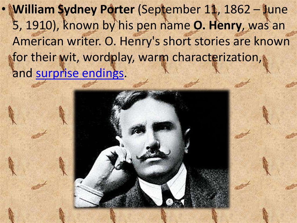 O Henry William Sydney Porter Online Presentation