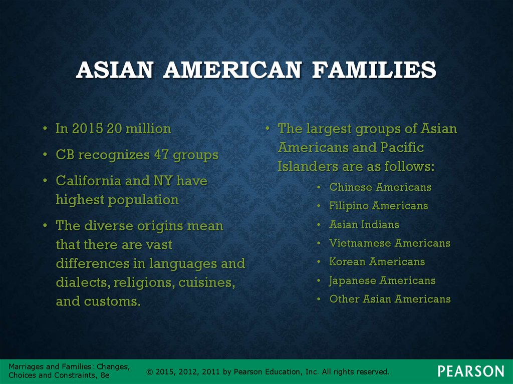 diverse family structure This demographic trend is but one contributor to the growth of diverse family structures in late life over the past half-century yet.