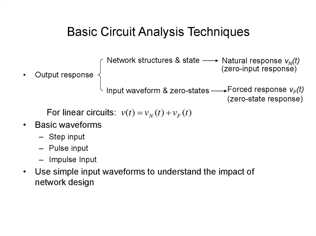 Basic Circuit Analysis Techniques