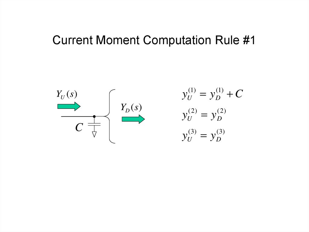 Current Moment Computation Rule #1