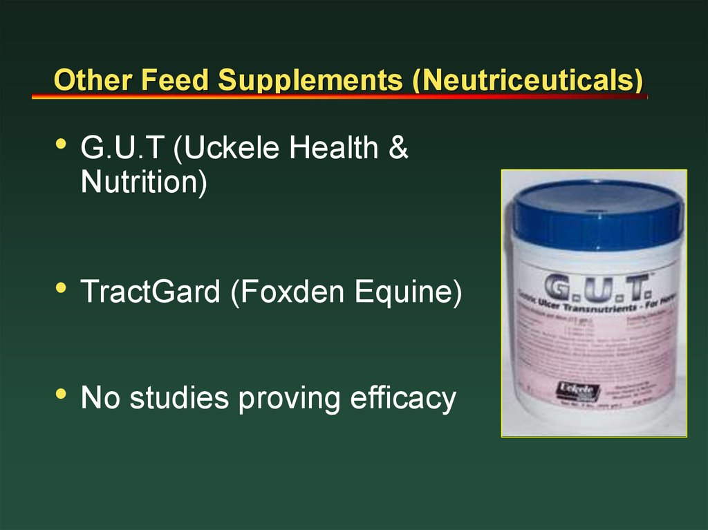 Other Feed Supplements (Neutriceuticals)
