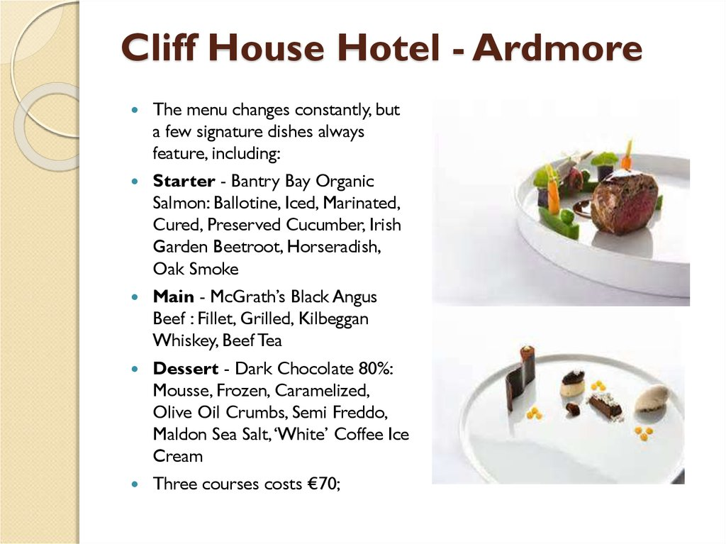 Cliff House Hotel - Ardmore