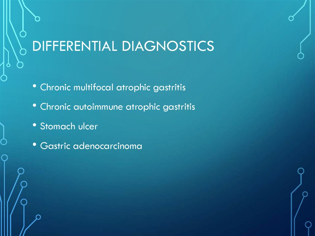 Differential diagnostics