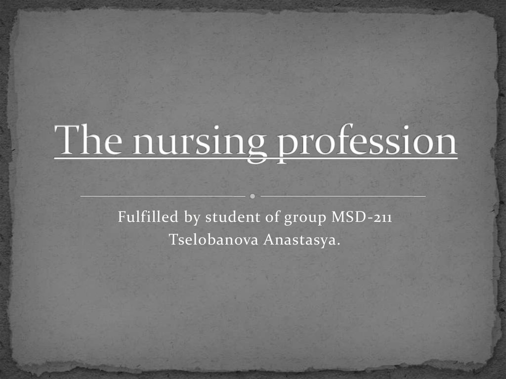 the relevance of the article by bramberg and sandman to the nursing profession The nursing shortage is currently a problem experienced in countries worldwide nationally, canada is experiencing its own nursing shortage according to an article published by the canadian nurses association, by 2022 canada will experience an estimated nursing shortage of up to 60,000 registered nurses (rns) (murphy, et al.