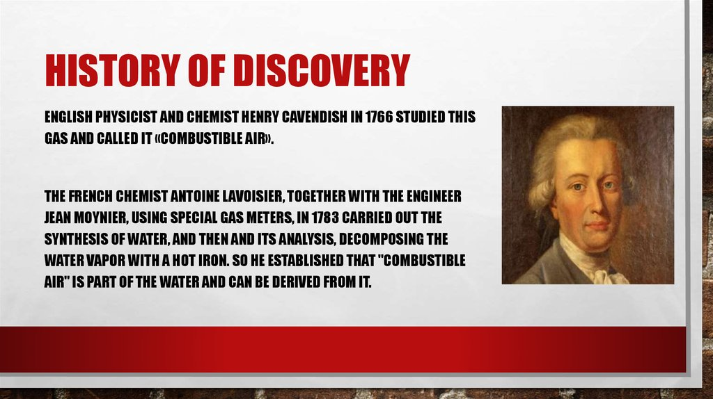 History of discovery