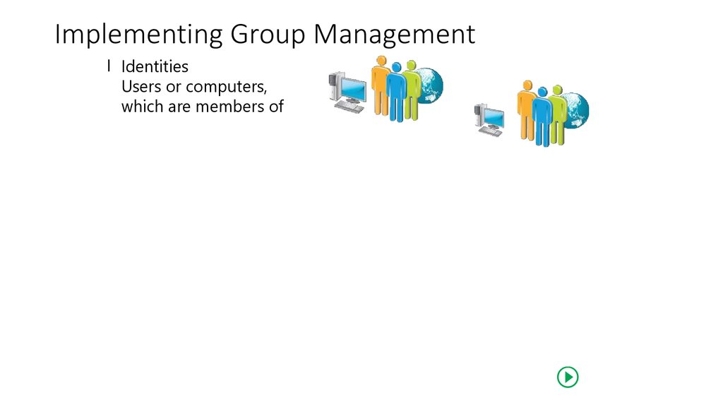 Implementing Group Management