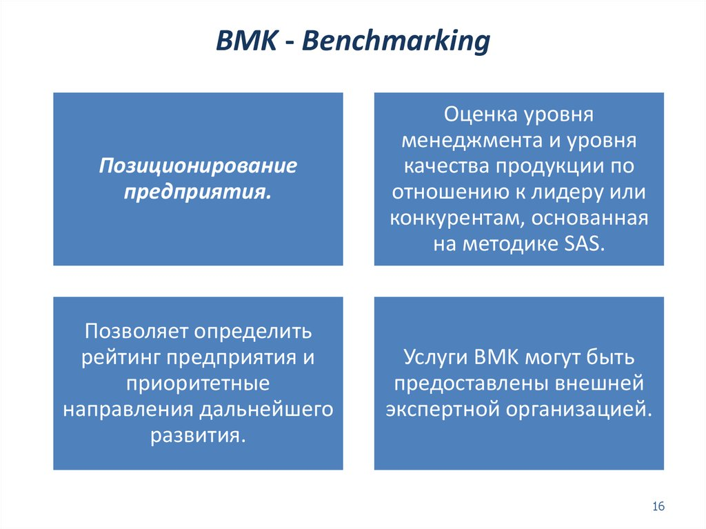 BMK - Benchmarking