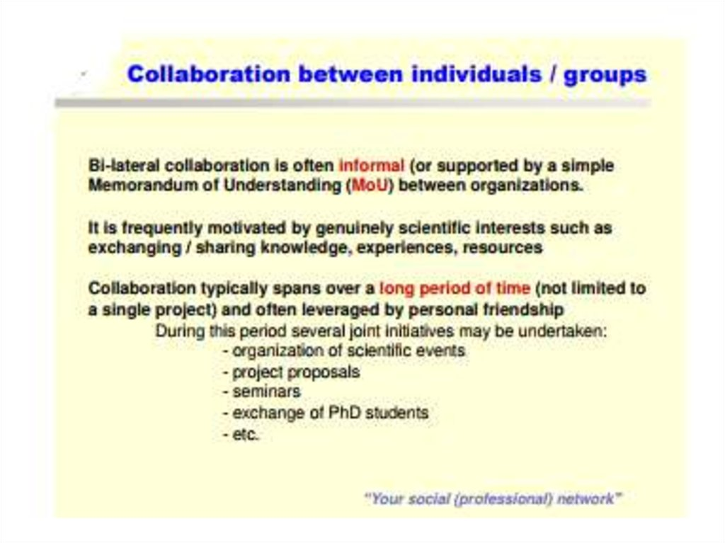 what is lateral collaboration
