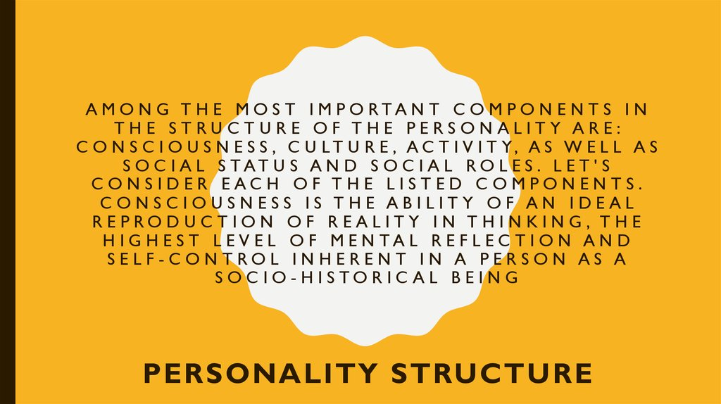 social structure and its components