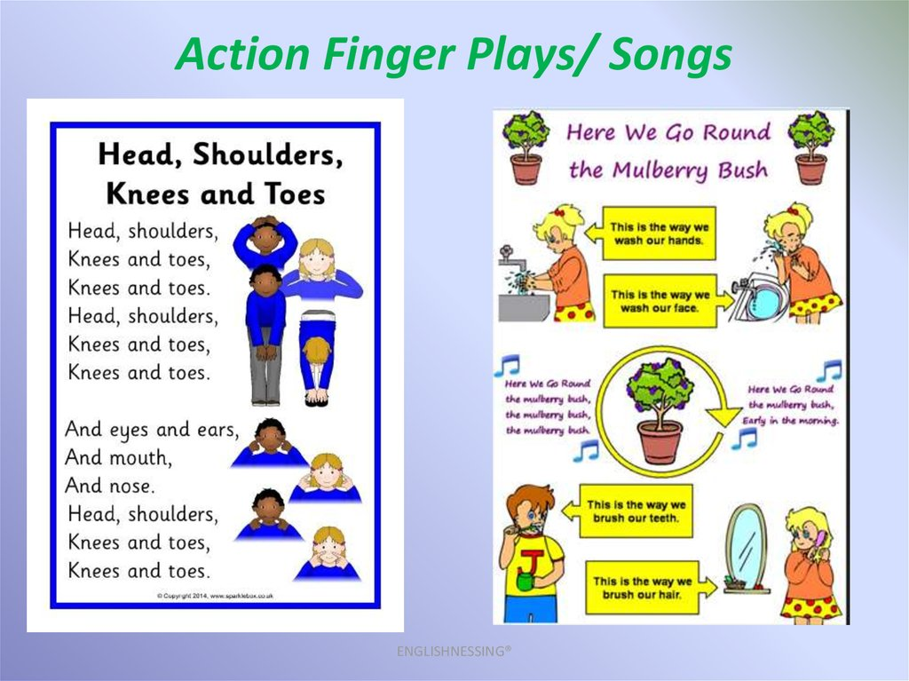 Action Finger Plays/ Songs