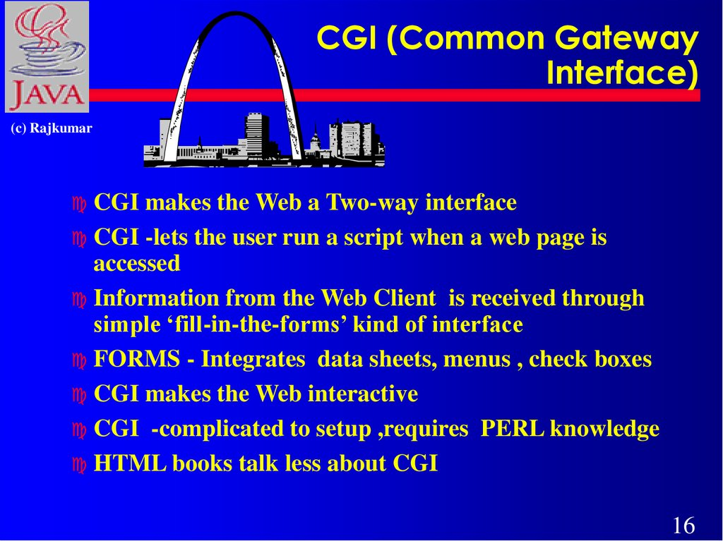 CGI (Common Gateway Interface)