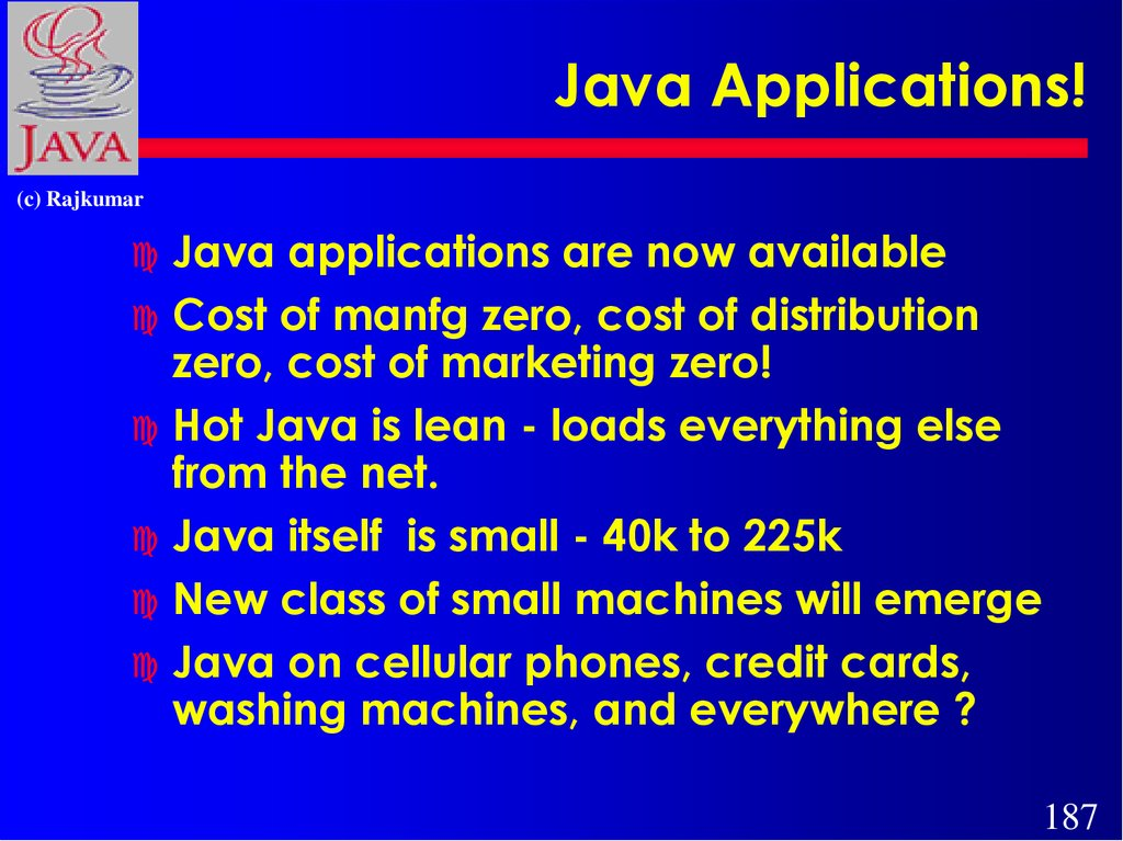 Java Applications!