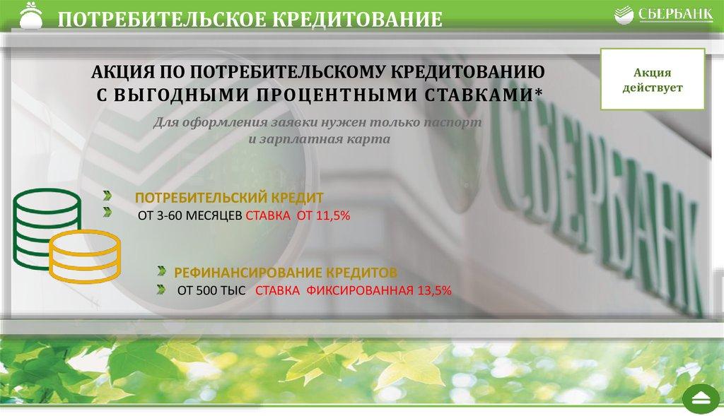 рефинансирование потребительского кредита в сбербанке для зарплатных клиентов альфа банк личный кабинет войти в личный кабинет по номеру карты